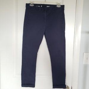 GAP skinny mini khakis